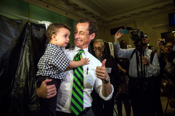 Anthony Weiner & son, Jordan