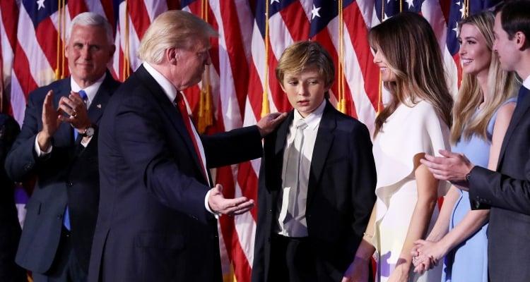 Barron Trump & Family