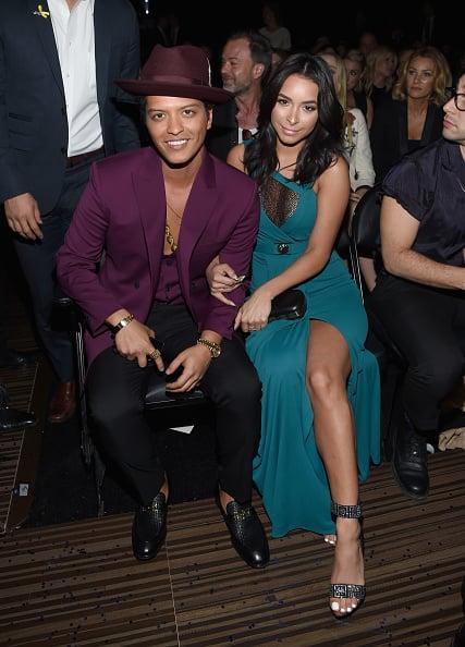 Bruno Mars & Jessica Caban