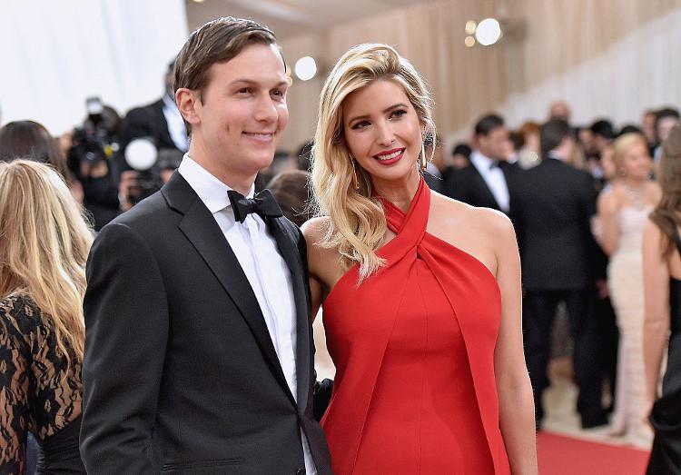 Ivanka Trump with Her Husband
