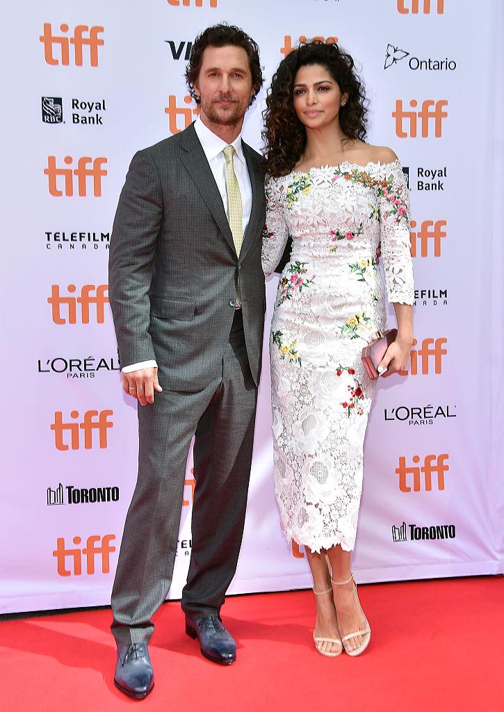 Matthew McConaughey wife pics