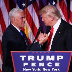 Mike Pence & Donald Trump