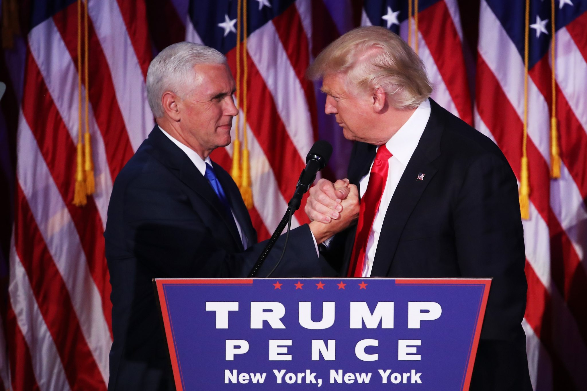 Mike Pence & Donald Trump
