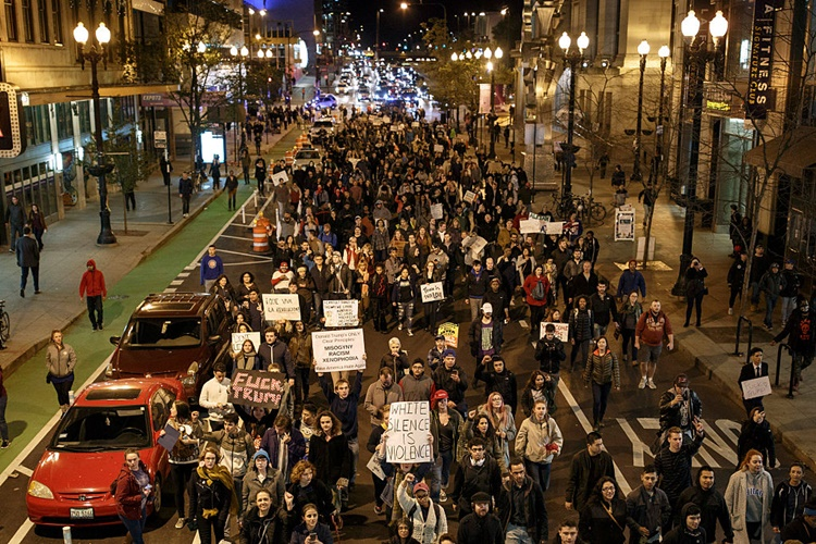 Rallies Erupting Across the United States