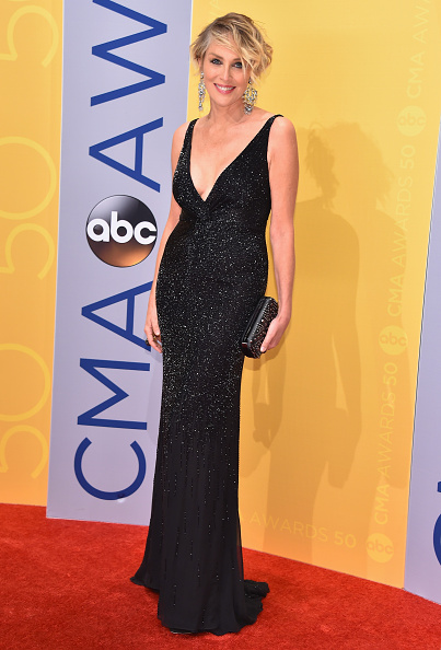 Sharon Stone at the 2016 CMAs