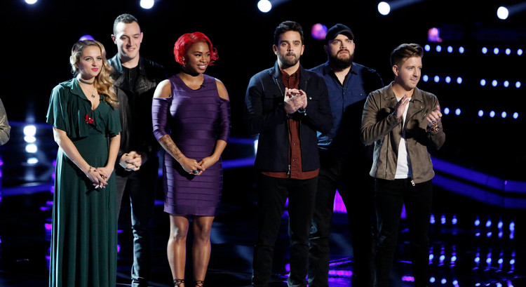 The Voice Results 2016 Top 10 Contestants