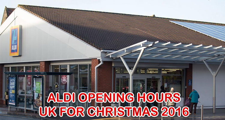 Photo Getty Images & Aldi Opening Hours UK for Christmas 2016 - Earn The Necklace
