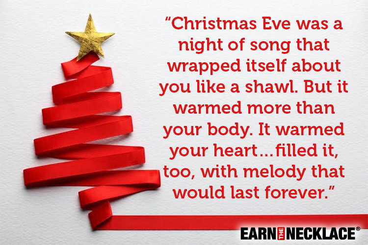 christmas eve quotes the perfect christmas image in words