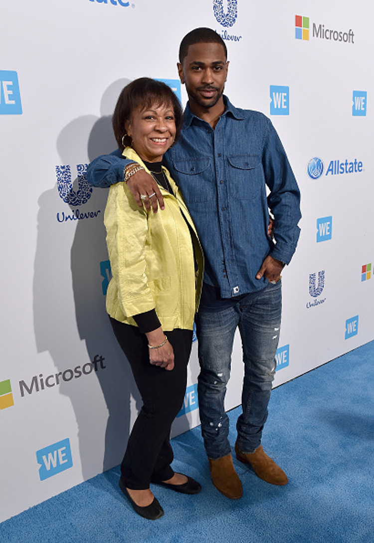 Big Sean & his mother Myra Anderson
