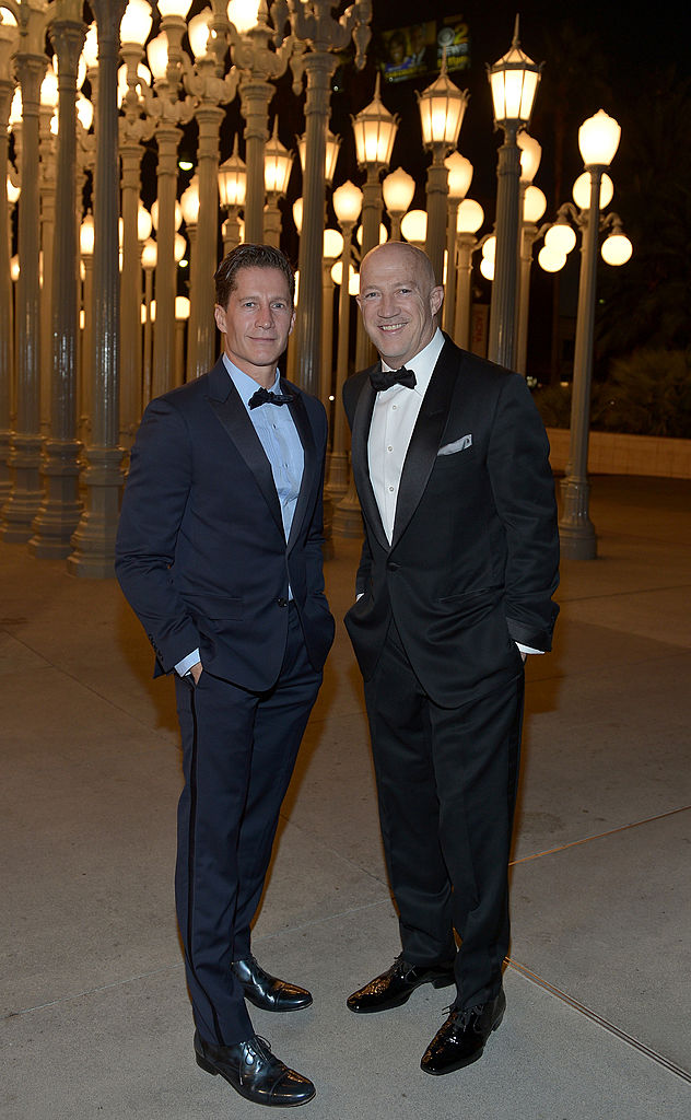 Bryan Lourd and Bruce Bozzi