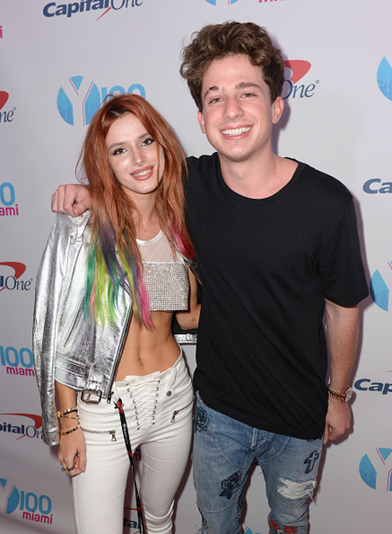 Charlie Puth and Bella Thorne