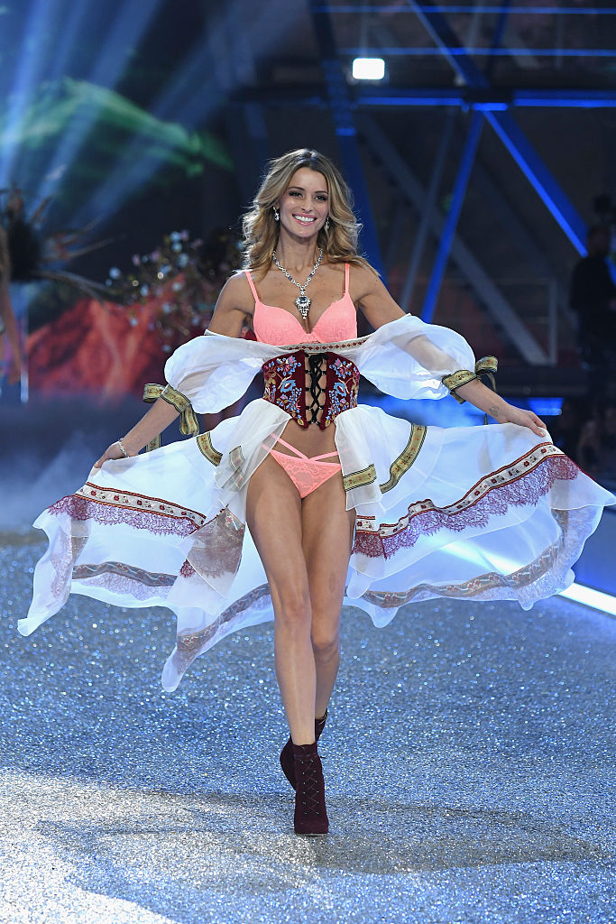 Flavia Lucini Victorias Secret Fashion Show