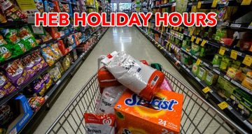 HEB Holiday Hours