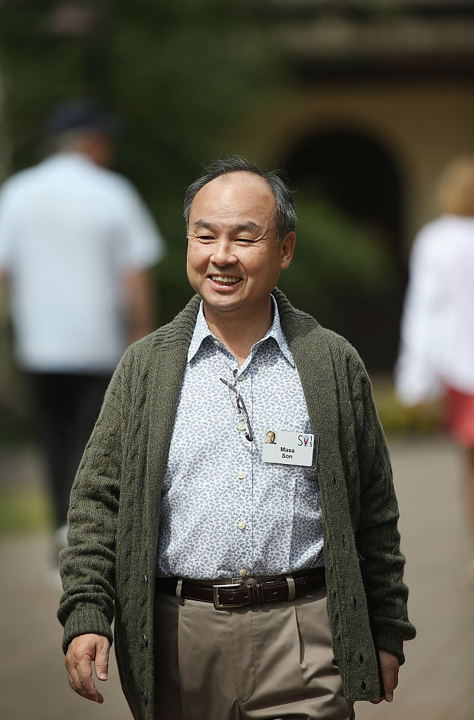 How Rich is Masayoshi Son