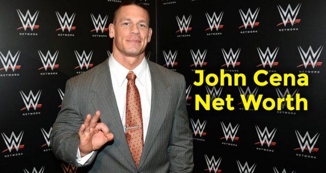 How Rich is John Cena