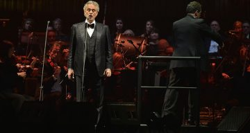 Is Andrea Bocelli Blind