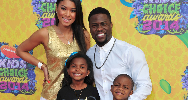 Kevin Hart Went Ice-Skating with His Kids to Welcome Winter