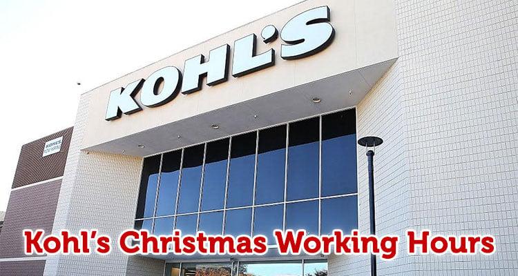 Kohls Working Hours Today October 2018 Discounts