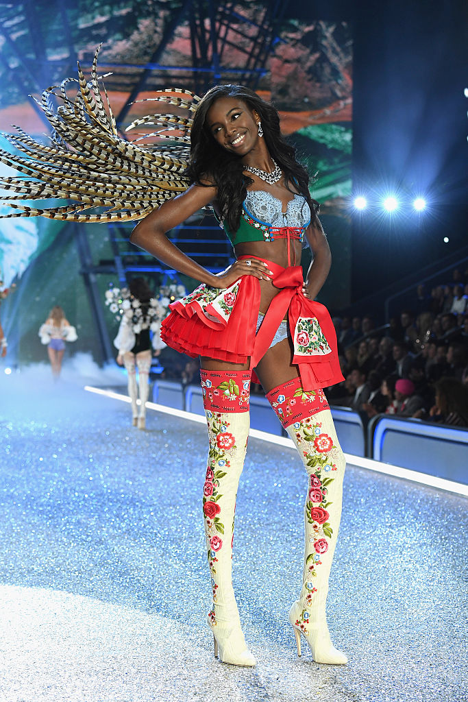 Leomie Anderson Victorias Secret Fashion Show