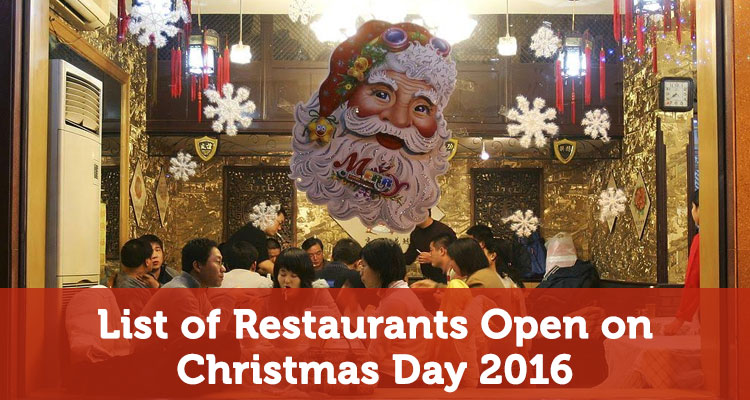 List of restaurants open on christmas day earn the necklace for What restaurants are open on christmas