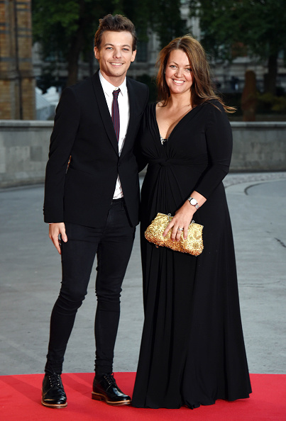 Louis Tomlinson and his mother, Johannah