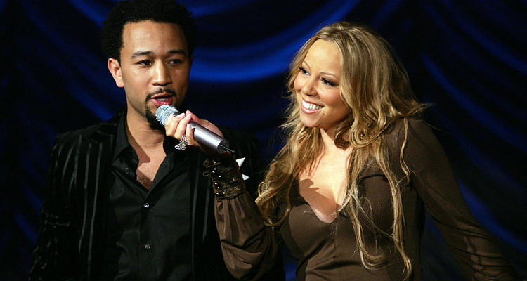 Maria Carey Shares Performance With John Legend
