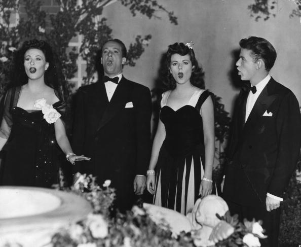 Michele Morgan & Frank Sinatra
