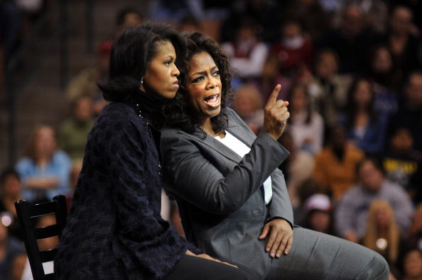 Michelle Obama & Oprah Winfrey