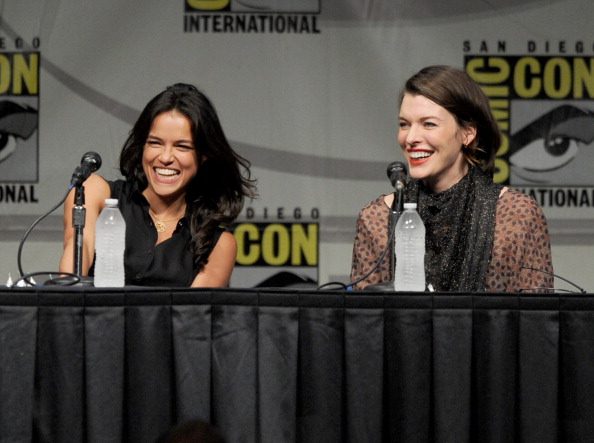 "Screen Gems' ""Resident Evil: Retribution"" Panel - Comic-Con International 2012"