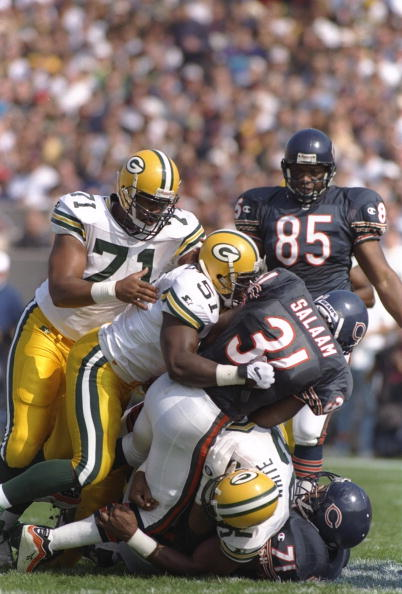 Packers vs. Bears, 1996