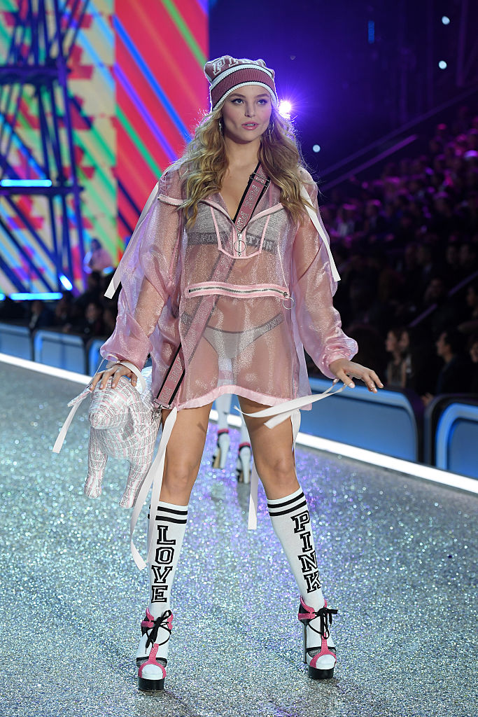 Rachel Hilbert Victorias Secret Fashion Show