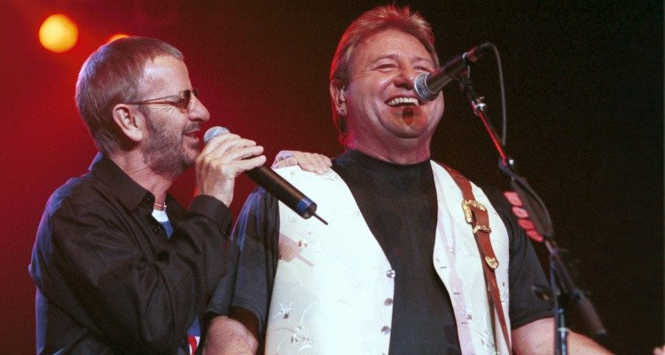 Ringo Starr & Greg Lake 2001