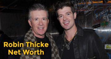 Robin Thicke Net Worth