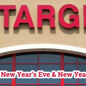 Target New Year Eve and New Year Hours