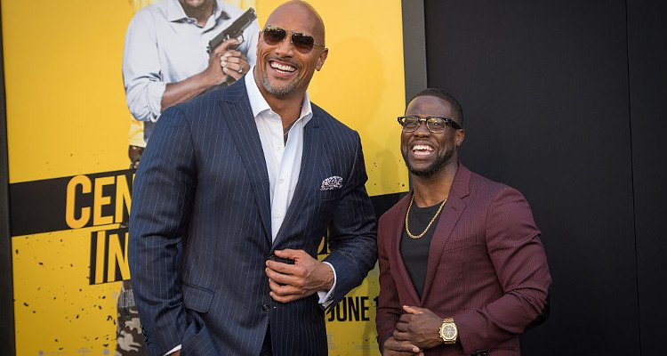 The Rock and Kevin Hart Share Hilarious Photos