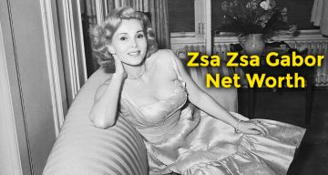 Zsa Zsa Gabor Net Worth