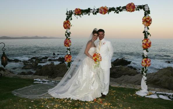 alan thicke and tanya callau wedding photos