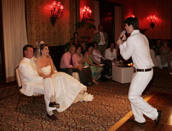 alan thicke wedding photos