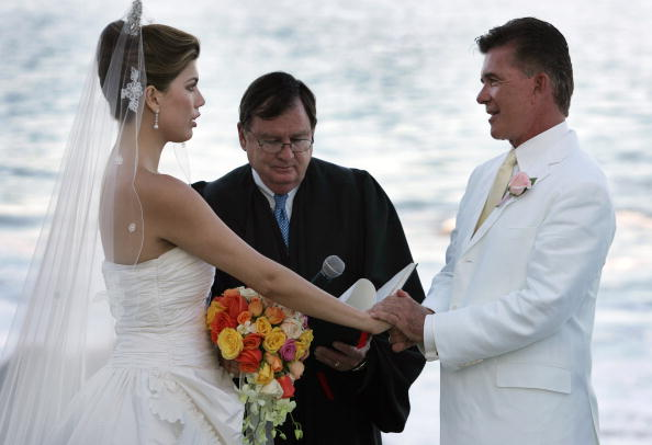 alan thicke wedding pics