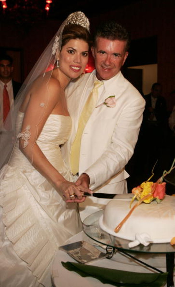 pics alan thicke and tanya callau wedding