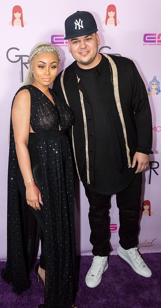 what happened with blac Chyna and Rob Kardashian