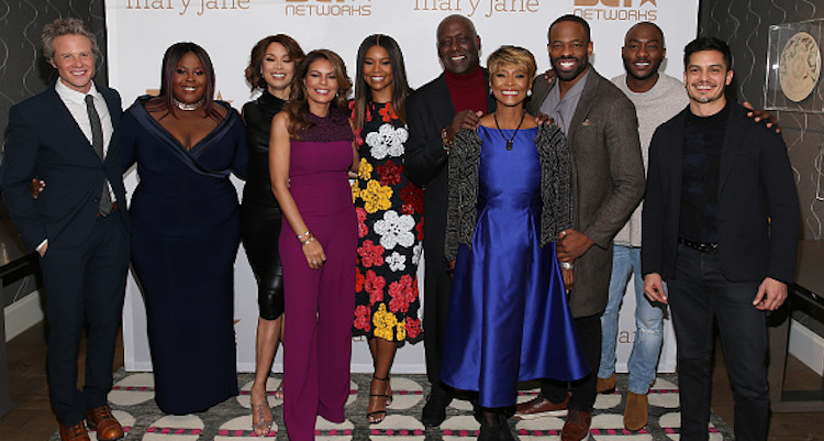 """Being Mary Jane"" Cast: Ashton Holmes, Raven Goodwin, Valarie Pettiford, Lisa Vidal, Gabrielle Union, Richard Roundtree, Margaret Avery, Chike Okonkwo, BJ Britt, and Nicolas Gonzales"