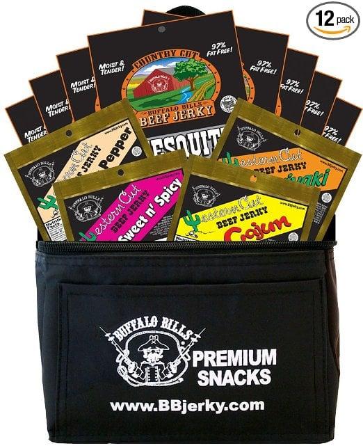 Beef Jerky Sampler Pack Valentines Day Gift