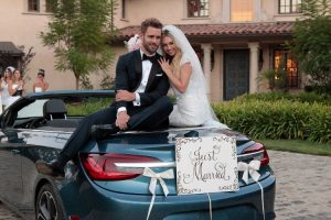 Corinne Olympios Goes Topless for Wedding Shoot