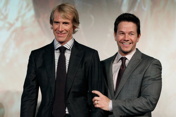 Director, Michael Bay & Mark Wahlberg