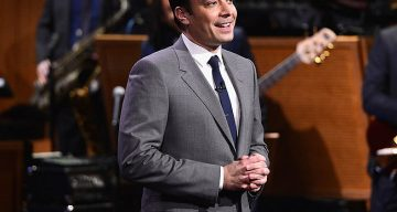 "NEW YORK, NY - FEBRUARY 17:  Jimmy Fallon during ""The Tonight Show Starring Jimmy Fallon"" at Rockefeller Center on February 17, 2014 in New York City.  (Photo by Theo Wargo/Getty Images for The Tonight Show Starring Jimmy Fallon)"