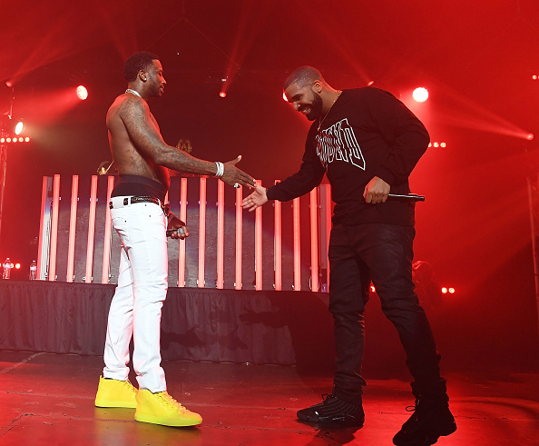 Gucci Mane and Drake
