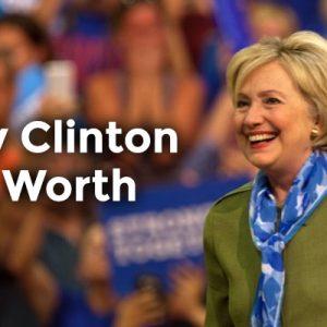 Hillary Clinton Net Worth