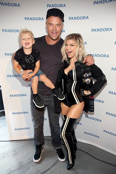 Josh Duhamel, Fergie and son, Jack