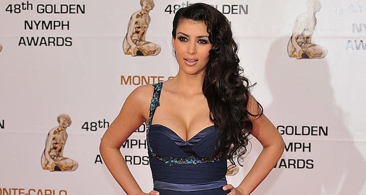 Kim Kardashian Young